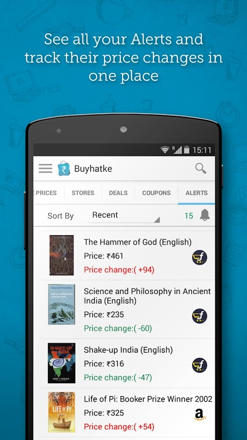 Online shopping: Price comparison app- screenshot