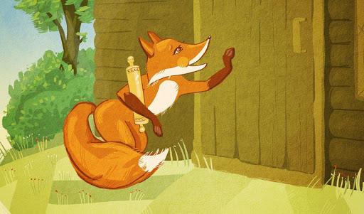 【免費書籍App】Fox with roller russian tale-APP點子
