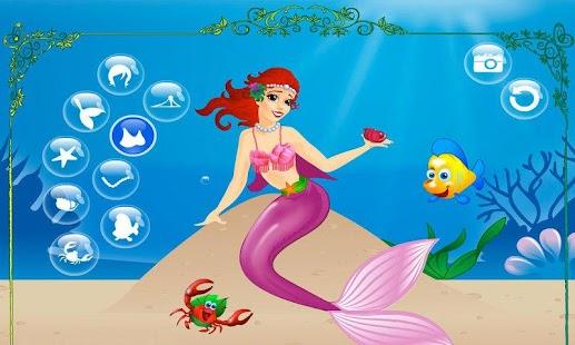 【免費休閒App】Mermaid Princess-APP點子