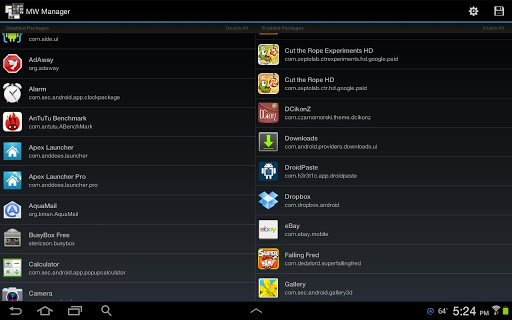 MultiWindow Manager Note 10.1