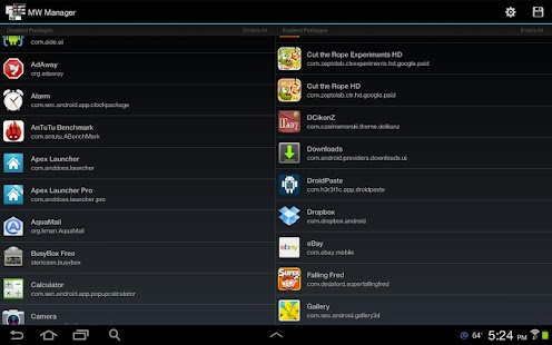 MultiWindow Manager(Note 10.1)- screenshot thumbnail