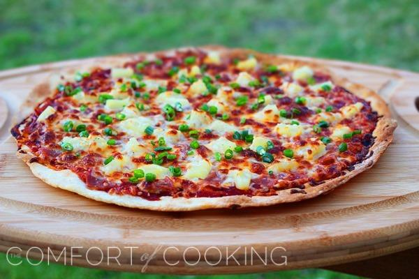 BBQ Ham and Pineapple Pizza Recipe