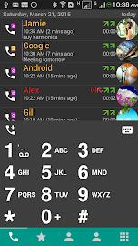 DW Contacts & Phone & Dialer Screenshot 1