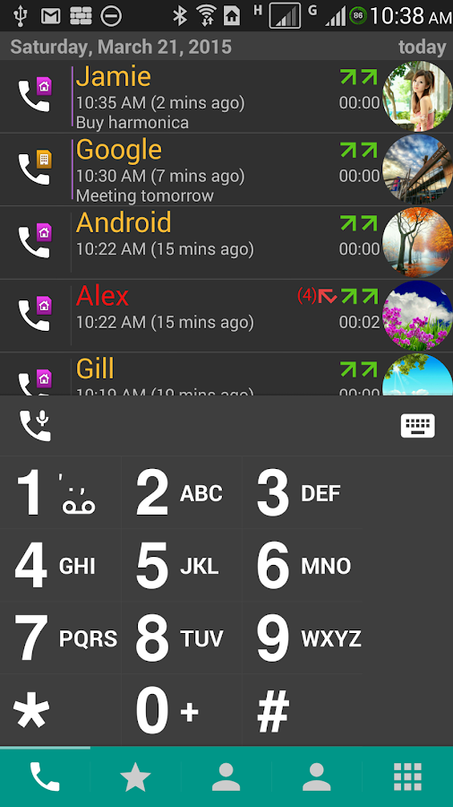 DW Contacts & Phone & Dialer- screenshot