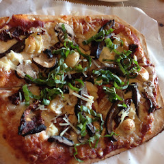 Four cheese and mushrooms gluten free