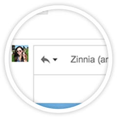 Gmail reply compose