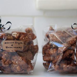 Brown Sugar Rosemary Walnuts.