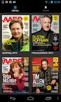 Screenshot of AARP The Magazine