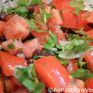 Tomato Black Bean Salad.