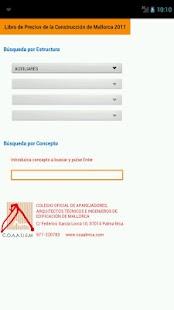 Libro de precios construcción- screenshot thumbnail