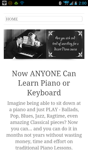 Piano Lesson -Blueprint Free