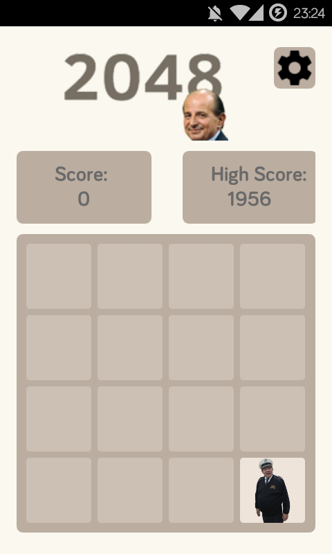 2048: Magally Edition- screenshot