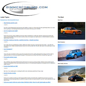 Bimmerforums.com – BMW Forum for PC and MAC