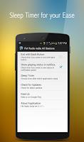 Screenshot of FM Radio India All Stations