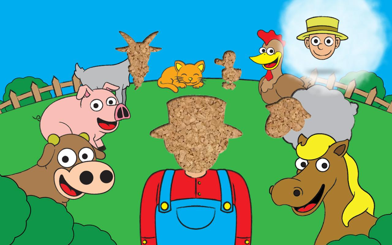 Uncategorized Free Animal Puzzles farm games animal puzzles for kids toddler apps android on screenshot