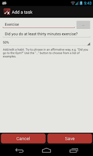 Task:Life Performance Tracker - screenshot thumbnail