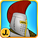 Sticker Play Knights for Kids icon