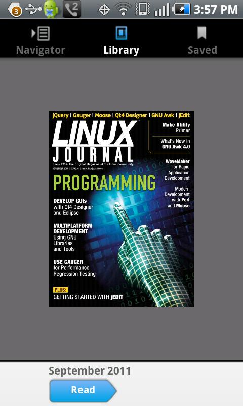 Linux Journal- screenshot