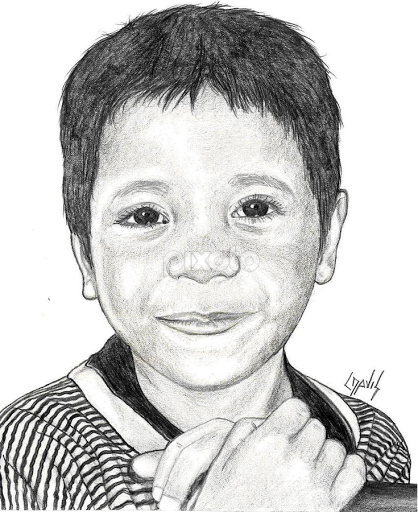 Marshallese boy 2 by lew davis drawing all drawing sketch male children