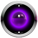 Poweramp skin lila 3d icon