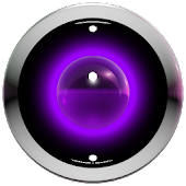 poweramp skin purple 3d