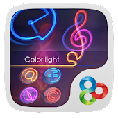 Colorlight GO Launcher Theme