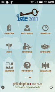 ISTE 2011 Onsite Mobile Guide - screenshot thumbnail