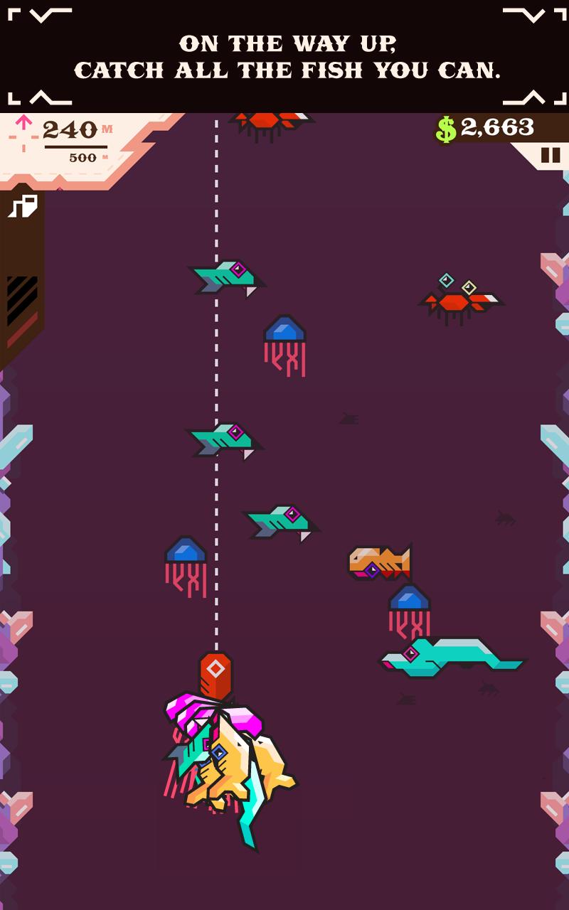 Ridiculous Fishing screenshot #13