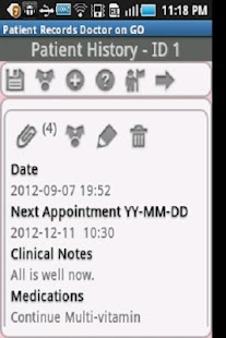 Patient Records Doctor ON GO-T - screenshot thumbnail