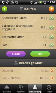 Rezeptefan- screenshot thumbnail