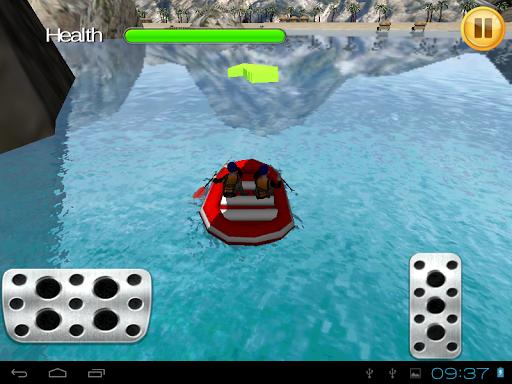 停双桨小船3D