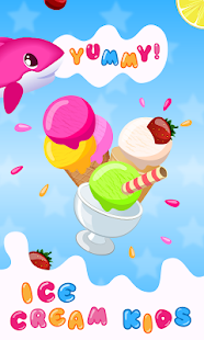 Ice Cream Kids - Cooking game- screenshot thumbnail
