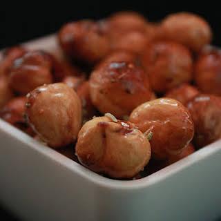 Salted Hazelnuts.