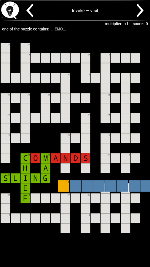Crossword: Loads of Words- screenshot