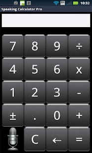 Speak n Talk Calculator Pro- screenshot thumbnail