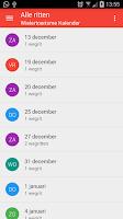 Screenshot of Wielertoerisme kalender