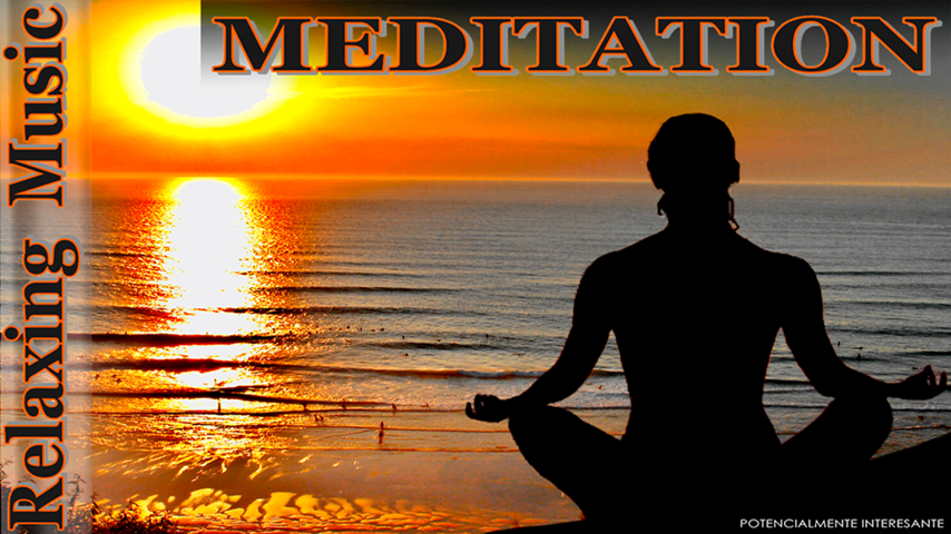 Meditation relax music - screenshot