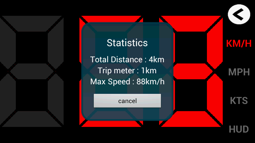 GPS HUD Speedometer - screenshot