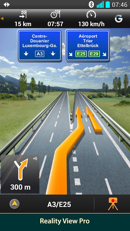 NAVIGON Europe - screenshot