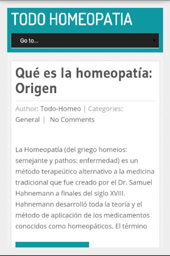 Todo Homeopatía En Español