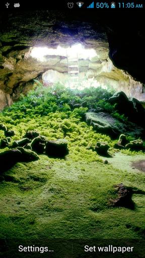 山洞動態壁紙