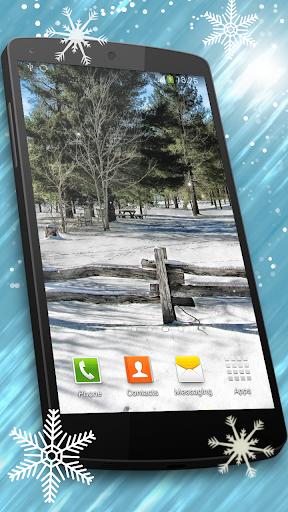 降雪ライブ壁紙 HD