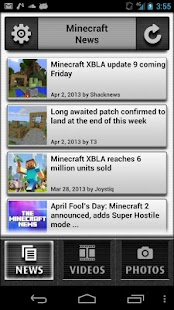 News for Minecraft - screenshot thumbnail