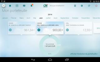 Screenshot of Ma Banque