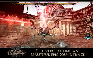 Screenshot of Rage of the Gladiator
