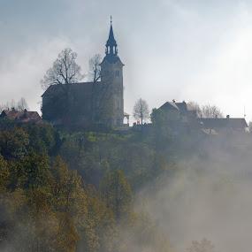 by Silva Predalič - Buildings & Architecture Places of Worship ( cerkev marijinega rojstva, novo mesto )