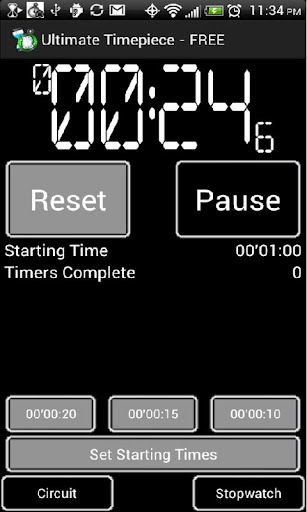 Easy Timer and Stopwatch