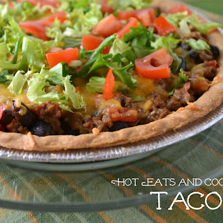 Ground Beef Taco Pie.