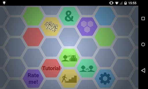 Dice Hexagons