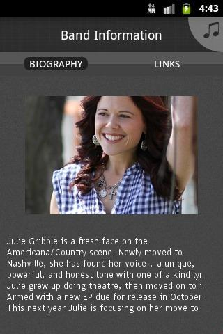 Julie Gribble - screenshot